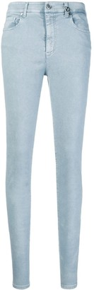 Versace Mid Rise Skinny Jeans