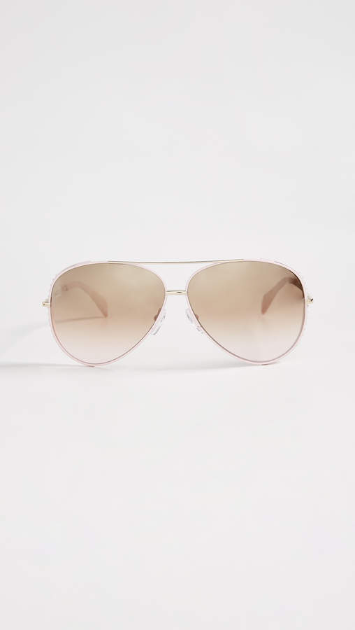 Moschino Aviator Sunglasses