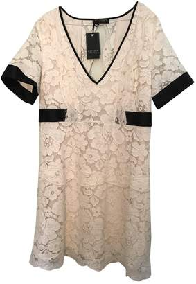Twin-Set Twin Set White Lace Dress for Women