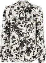 McQ by Alexander McQueen floral print shirt - women - Polyester - 40