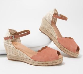 Pinaz Suede Espadrille Sandals