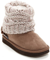 Muk Luks Pattie Faux Fur Lined Boot (Toddler & Little Kid)