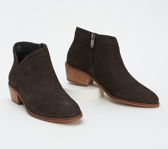 Vince Camuto Leather or Suede Booties - Parrla