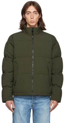 The Very Warm SSENSE Exclusive Khaki Quilted Puffer Jacket