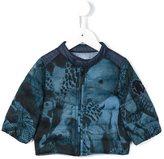 Roberto Cavalli printed puffer jacket