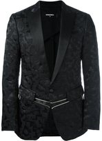DSQUARED2 'London Black' tuxedo jacket - men - Silk/Polyamide/Polyester - 48