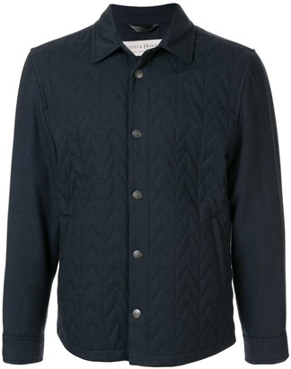 Gieves & Hawkes quilted short jacket