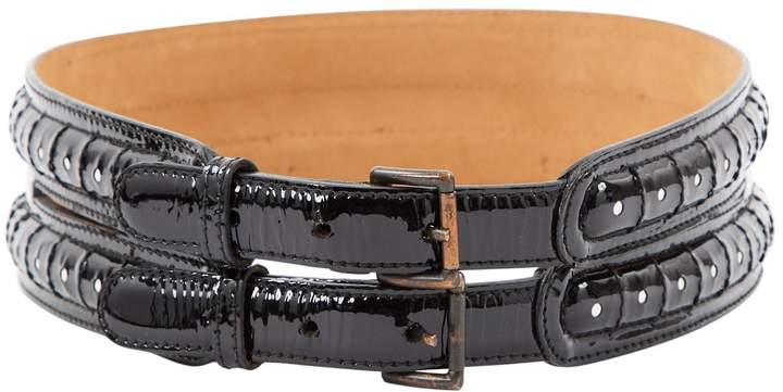 Alaia Patent leather belt