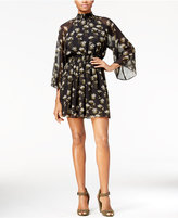 Rachel Roy Printed Smocked Dress, Only at Macy's