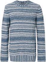 Denham Jeans striped knit jumper