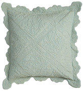 "Amity Home Zella Quilted Pillow, 18""Sq."