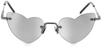 Saint Laurent 254 LouLou 50MM Heart Sunglasses