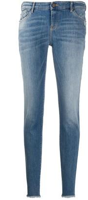 Emporio Armani Low-Waist Skinny Jeans