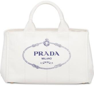 Prada Hemp fabric handbag