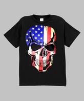 Micro Me Black Flag Skull Tee - Toddler & Boys
