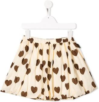 Mini Rodini Hearts Balloon Skirt
