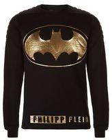 Philipp Plein Batman Logo Sweatshirt