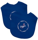 Baby Fanatic MLB Baby Bib 2 pack - Los Angeles Dodgers