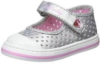 Pablosky Kids Girls Low-Top Sneakers, Silver (Plateado 947150)