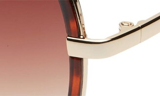 Quay All In 56mm Aviator Sunglasses