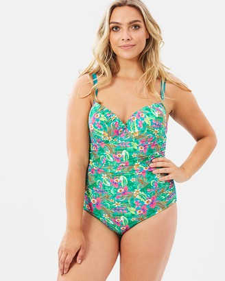 Curvy Chic Sports Spring One-Piece
