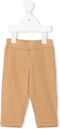 Eshvi Kids Ribbed Organic Cotton Trousers