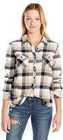 Volcom Junior's Desert High Long Sleeve Relaxed Fit Flannel