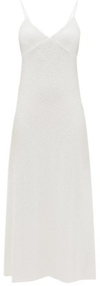 Norma Kamali Sequinned Jersey Dress - Womens - White