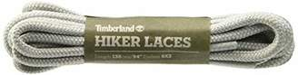 Timberland Unisex's Hiker Round 54-inch Shoe Laces, Grey (Silver Grey)