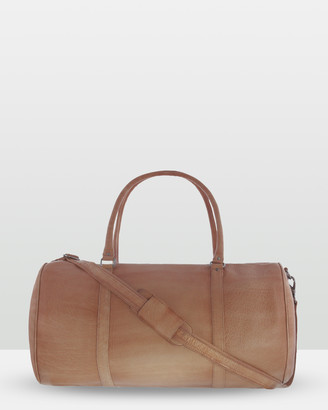 Cobb & Co - Men's Brown Satchels - Cobram Soft Leather Duffle Bag - Size One Size, Unisex at The Iconic