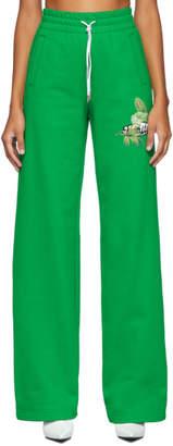 Off-White Green Logo Lounge Pants