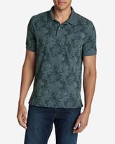 Eddie Bauer Men's Field Short-Sleeve Pocket Polo Shirt - Print