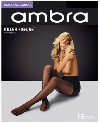 Ambra Killer Figure Hourglass Pantyhose AKILFH Natural