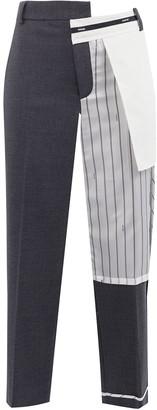 Monse Inside Out pinstripe pocket trousers