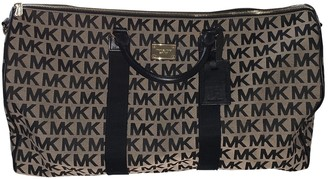 Michael Kors Black Cloth Travel bags