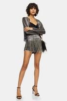 Topshop Black Embellished Shorts