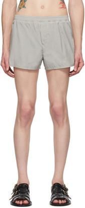 Haider Ackermann Grey Boxer Shorts