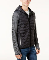 Superdry Men's Mixed-Media Quilted Jacket