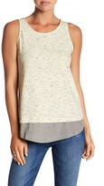 Olive + Oak Olive & Oak Gia Heathered Tank