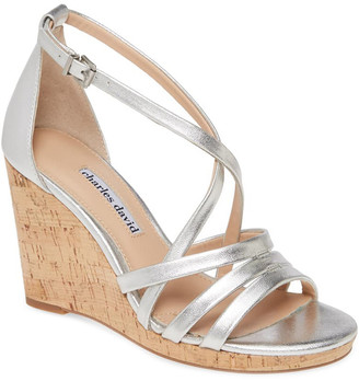 Charles David Randee Leather Sandal