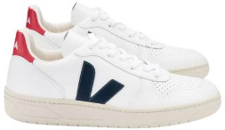 Veja V 10 Leather Extra White Nautico Pekin Sneakers - 36 (UK 3)