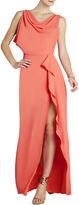 BCBGMAXAZRIA Sydney Cowl-Neck Dress