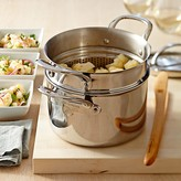 Williams-Sonoma Signature Thermo-Clad Stainless-Steel Steamer with Lid