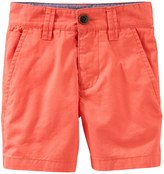 Osh Kosh Boys 4-8 Solid Dock Shorts