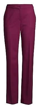Escada Women's Taminotas Wool Straight-Leg Trousers