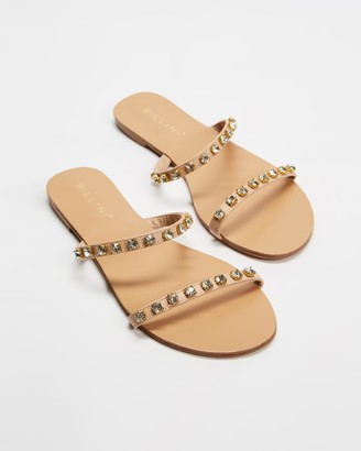 Billini - Women's Neutrals Strappy sandals - Merida - Size 5 at The Iconic