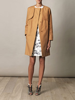 Carven Simple cotton trench coat