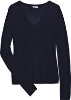 Miu Miu Cashmere and silk-blend sweater