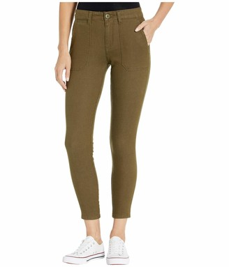 Sanctuary Womens Green Pocketed Zippered Jeans US Size: 25 Waist