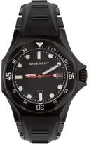Givenchy Black Matte Five Shark Watch